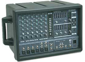 Yamaha emx66m 2x300 watt powered mixer free data sheet by for Yamaha power amp mixer