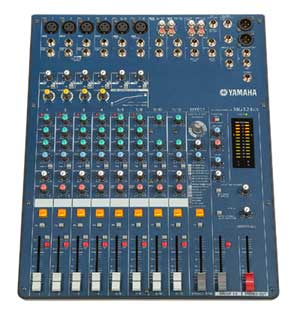 Yamaha mg12 4 12 channel mixing desk free data sheet by for Yamaha mg series mixers