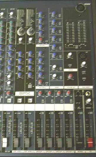 yamaha mg32 14fx 32 channel live recording mixing desk free data