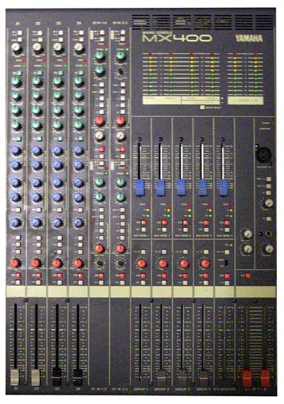 Yamaha Channel Live Recording Mixing Console