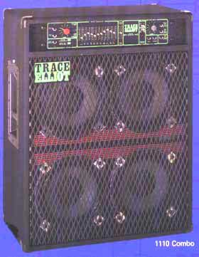 Trace Elliot 1110 Bass Guitar Combo Amplifier Free Data