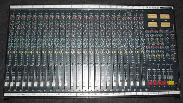 Soundcraft 200b 24 Channel 4 Bus Mixing Desk Free Data