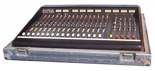 Soundcraft 400B mixing console