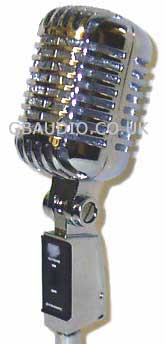 55CA vintage style modern reproduction cardioid dynamic microphone