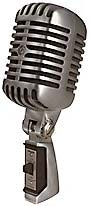 "Shure 55SH Mk2 The classic ""Elvis"" vocal microphone"