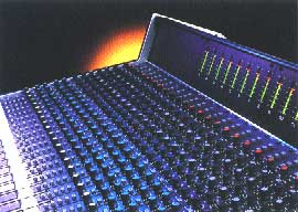 Soundcraft 600 mixing console