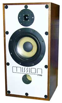 Mission 770 domestic hi-fi loundspeaker