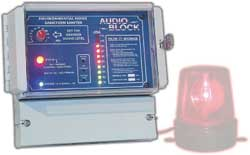 Audioblock sound system level controller
