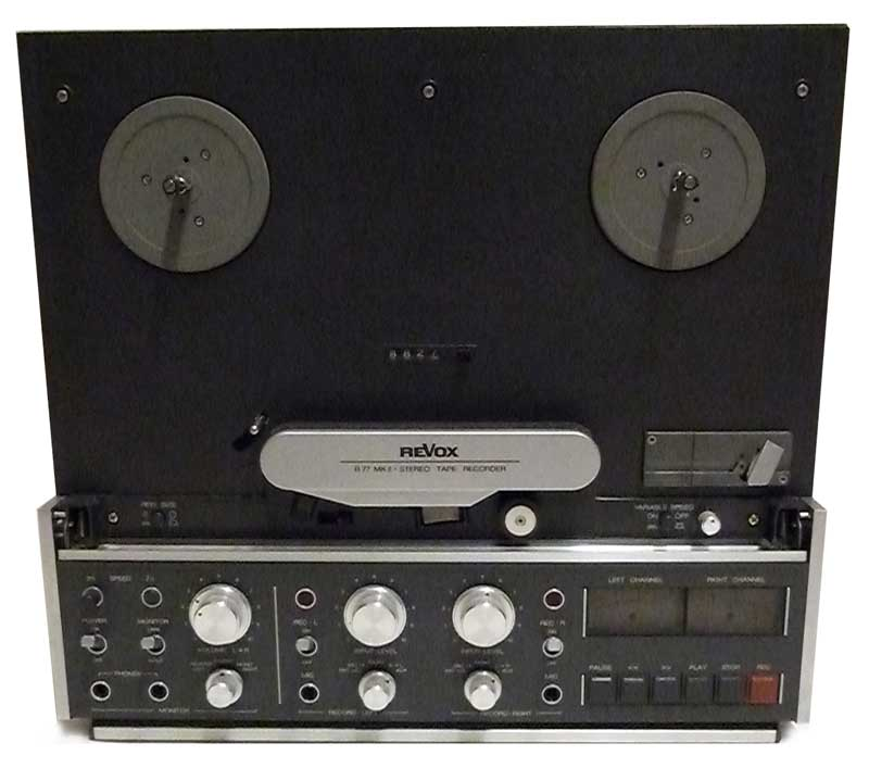 Revox B77 Mk2 158984 Open Reel Analogue Studio Master