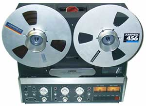 Revox B77 analogue open reel recorder