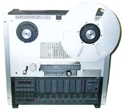 Revox C278 analogue 8 track open reel tape recorder