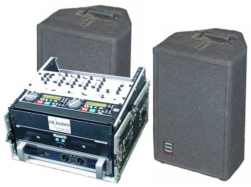 DJ package system. Easy to set up, easy to use.