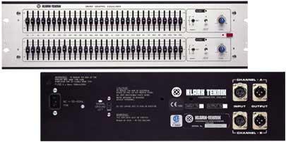 Klark Teknik Graphic Equalizer DN360