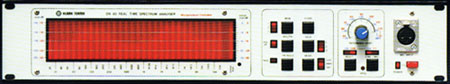 Klark Teknik DN60 real time spectrum analyser