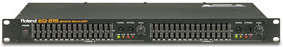 Roland EQ215 stereo graphic equaliser