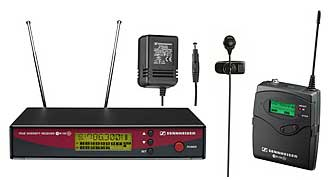 Sennheiser EW122G2 wireless microphone kit