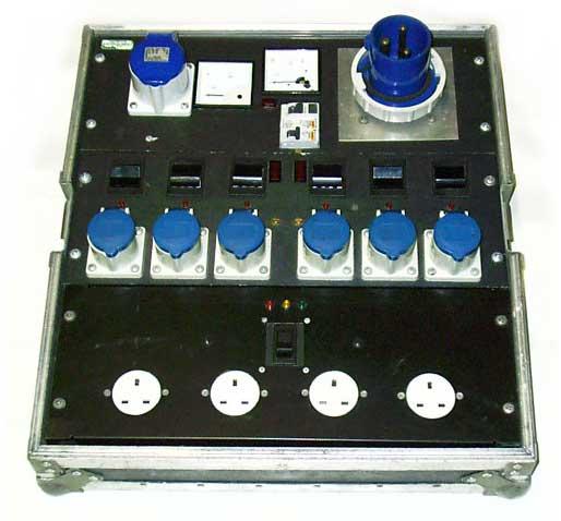 Mains Power Distribution 230v Ac 63a Single Phase Free