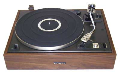 Pioneer PL15D belt drive hi-fi turntable
