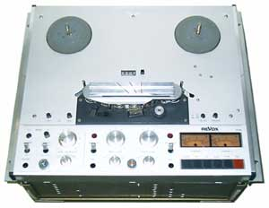 Revox PR99 two track analogue open reel tape recorder