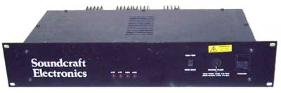 Soundcraft PSM1038 mixing console power supply unit