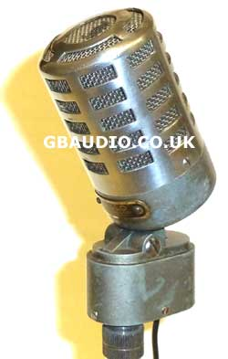 Reslo RV vintage microphone with modern high quality dynamic capsule