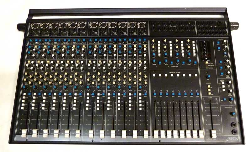 Seck 12.8.2 8 group mixing console