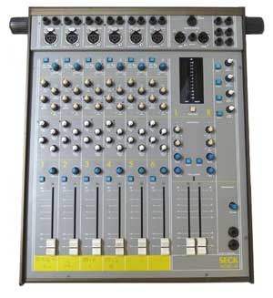 Seck 6.2 Mk1 stereo mixing console