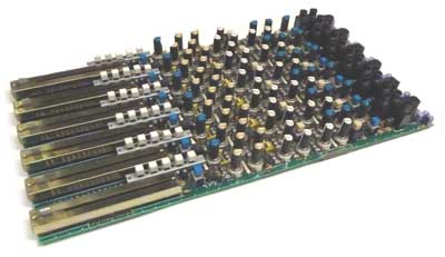 Seck 6 channel input block for 12.8.8 eight bus mixing console