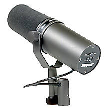 Shure SM7A cardioid dynamic broadcast microphone