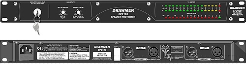 Drawmer SP2120 speaker protection, multiband system limiter
