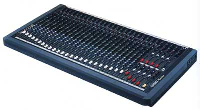 Soundcraft Spirit monitor mixing console
