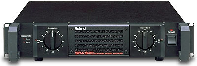 Roland SRA540 stereo power amplifier