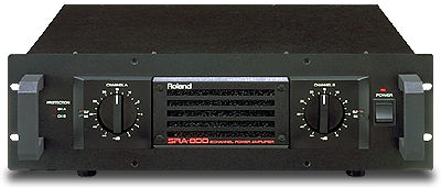 Roland SRA800 stereo power amplifier