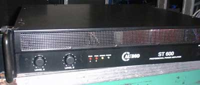 C-Audio ST600 stereo power amplifier