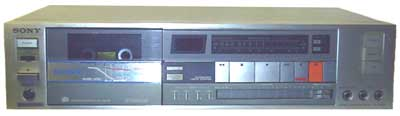 Sony TCXF66 stereo cassette recorder