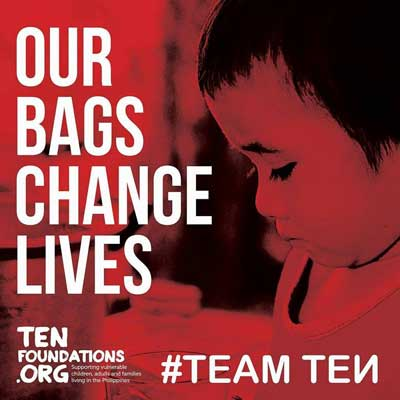 Ten Foundations - Fantastic quality bags that can change a life